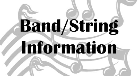 2013 HWES Band/String Information